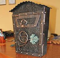 Кованый почтовый ящик, фото 1