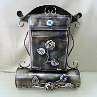 Кованый ящик для писем и газет