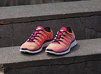 Кроссовки Nike free flyknit nsw (РОЗОВЫЕ), фото 1