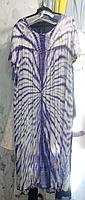 Платье двухцветное, большой размер