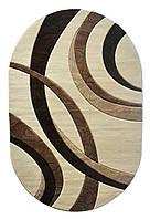 Ковер Meral 0571 CREAM oval