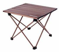 Раскладной стол Kingcamp из алюминия, коричневый ULTRA-LIGHT FOLDING TABLE(KC3924) Brown