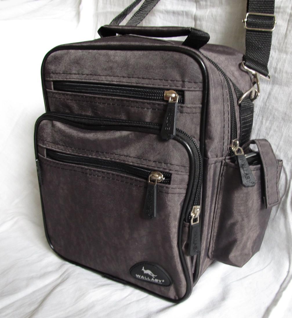 3bff5e3ad4f4 Мужская сумка Wallaby2665 хаки барсетка через плечо 20х25х16см -  Интернет-магазин