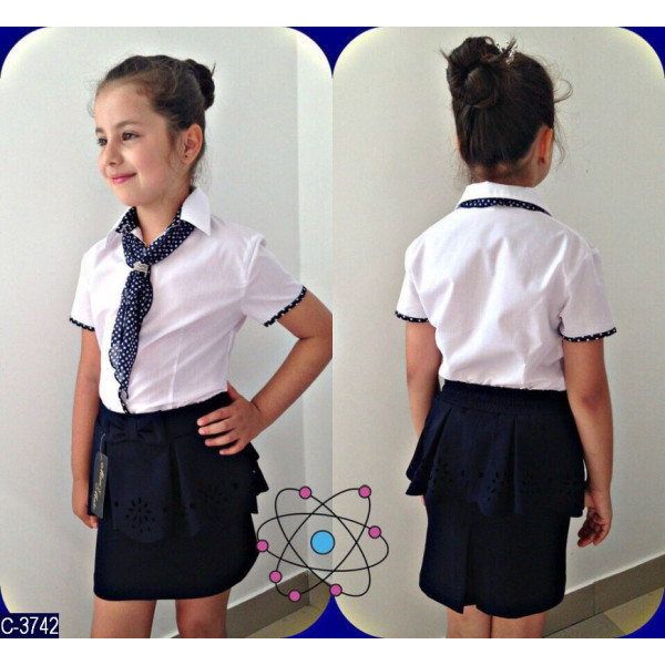 5dec4434868 Школьная блузка на девочку  продажа