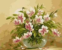 Картина по номерам Цветочная нежность КНО1064 Идейка