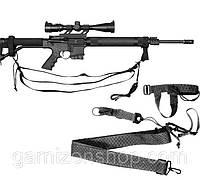 Оружейный ремень Rothco 3-Point Rifle Sling - Black