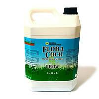 Flora Coco Grow 5 л. Удобрение GHE для кокосового субстрата.