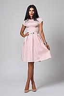 Платье  мод 389-2 размер 46,48,50 розовый кварц