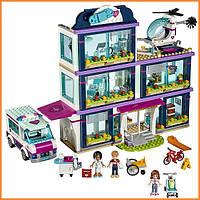 Конструктор Лего Френдс Клиника Хартлейк-Сити Lego Friends 41318