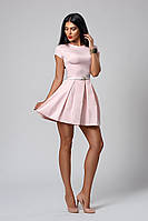 Платье  мод 390 -2 размер 44,46 пудра
