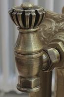 """Вентили (краны) комплекты для дизайн радиаторов Liberty 1/2"""""""