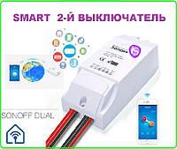 Sonoff Беспроводной WiFi  выключатель 2 канала , фото 1