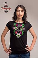 Жіноча блуза Самоцвіт бордовий, рукав-кімоно, фото 1