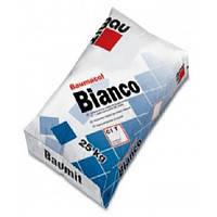 Baumit Bianco белая тиксотропная клеящая смесь для мрамора и напольных плит, класс С1Т 25 кг