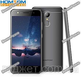 Телефон Homtom HT37 5.0 дюйм-2Gb/16Gb-3000mAh Черного цвета, корпус Металл