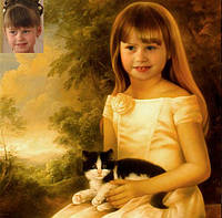 Детский фотоколлаж от 3-х и старше