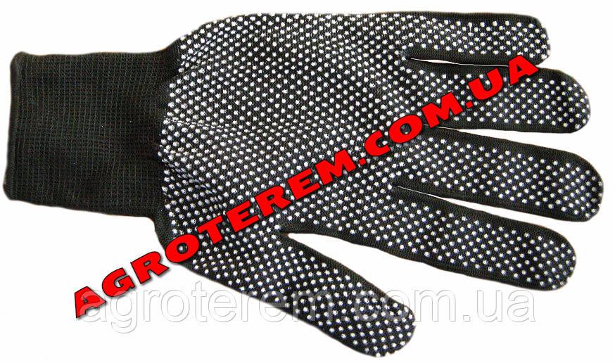 Перчатки стрейч в горошек - Agroterem в Одессе