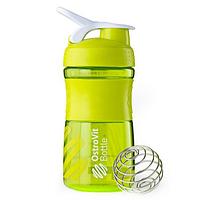 Шейкер OstroVit Bottle Sportmixer 500 ml bright green/салатовий
