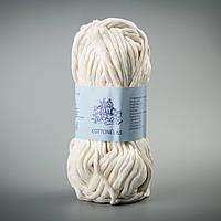 Пряжа Коттонель 65 ТМ Vivchari, цвет Молочный