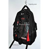 Рюкзак (спиннер в подарок) школьный для мальчика черный G1608-6386c