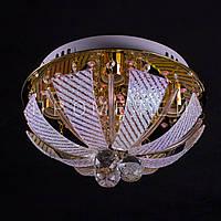 "Люстра ""торт - классика"" с LED подсветкой на пульте управления. P6-6506/4"