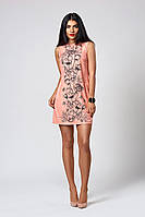 Платье мод. 391-6,размер 48 пудра