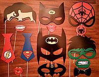 """Фотобутафория """"Супергерои"""" 14 предметов"""