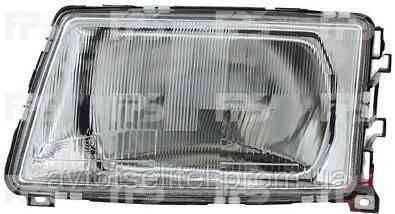 Фара передняя для Audi 100 82-91 правая (DEPO) механическая