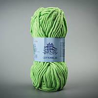 Летняя пряжа Коттонель 65 Vivchari, цвет Салатовый