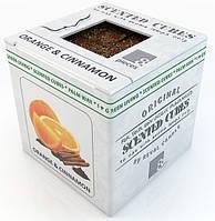 Апельсин и корица.  Аромавоск, аромамасла, благовония, эфирное масло для аромаламп