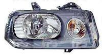 Фара передняя для Citroen Jumpy 03-07 левая (DEPO) под электрокорректор