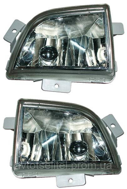 Противотуманная фара для Chevrolet Aveo 05-06 SDN/HB левая (DEPO)