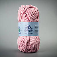 Летняя пряжа Коттонель 65 Vivchari, цвет Светло-розовый
