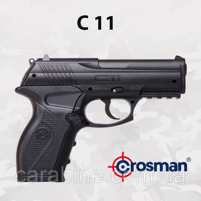 Пневматический пистолет Crosman C11 газобаллонный CO2