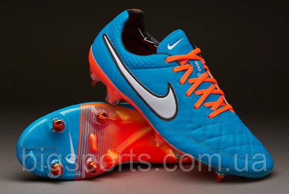 Бутсы футбольные муж. Nike Tiempo Legend V SG-Pro (арт. 631614-418)