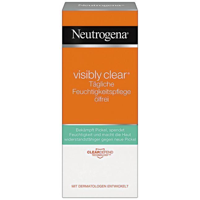Neutrogena Visibly Clear tägliche Feuchtigkeitspflege ölfrei - Увлажняющая эмульсия для лица без жиров, 50 мл, фото 1