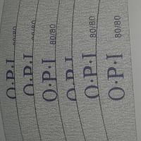 Пилка для ногтей 80/80 OPI купол серая 1 шт