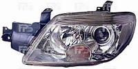 Фара передняя для Mitsubishi Outlander 05-07 левая (DEPO) механическая