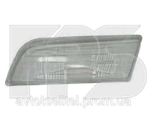 Стекло фары для Nissan Almera N15 95-99 правое, рифлен. (DEPO)