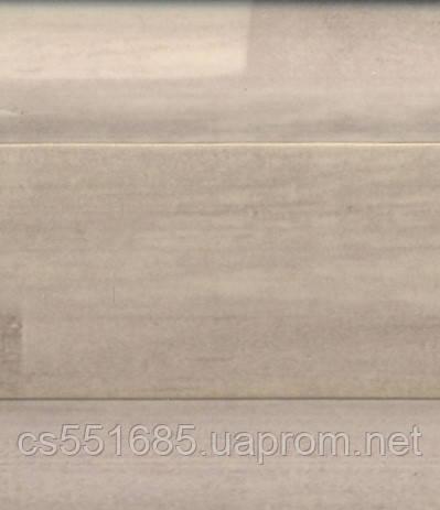 W 173 Білий вудсток - підлоговий плінтус з каб.каналом Dollken SLK 50