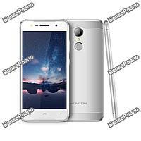 Телефон Homtom HT37 5.0 дюйм-2Gb/16Gb-3000mAh В Наличии корпус Металл. Смартфон. цвет Silver