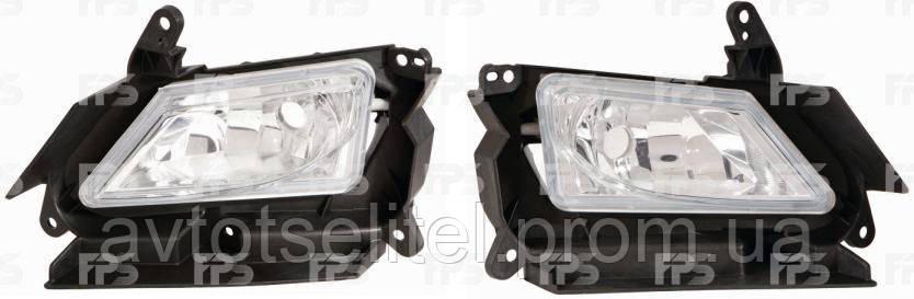 Противотуманная фара для Mazda 3 09-13 EUR левая электрическая (Depo)