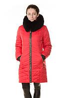 Зимняя женская куртка Daser c натуральным мехом