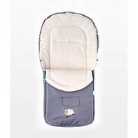 Детский конверт для коляски Sensillo Polar 95x40 - grey/light