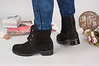 Ботинки в стиле H@rmes.Натуральный замш,внутри на байке.Большемерят на размер.Цвет черный.Р-р 36-40