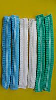 """Шапочки """"Одуванчик"""", защитные,  с ДВОЙНОЙ резинкой. Голубой, Белый, Зеленый"""