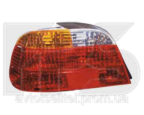 Фонарь задний для BMW 7 E38 94-02 правый (DEPO) красно-желтый