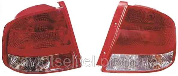 Фонарь задний для Chevrolet Aveo (Т200) седан 04-06 правый (DEPO)