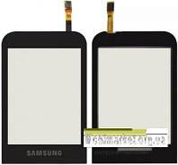 Сенсорний екран для мобільного телефону Samsung C3300 original чорний