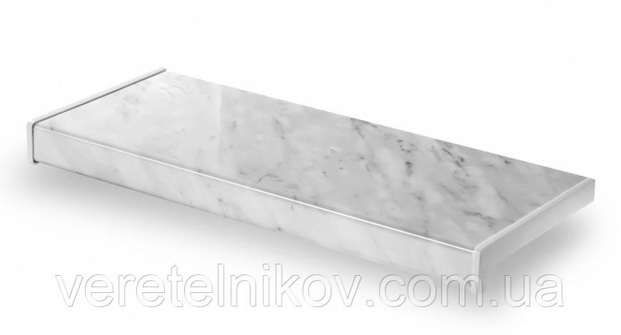 Глянцевый подоконник Parapet Glanz (Серый мрамор).
